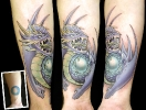 cover up tattoos_Pearl Dragon