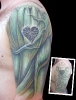 cover up tattoos_green hulk arm