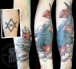 Rich's Unicursal Hexagram Koi Cover-up _1