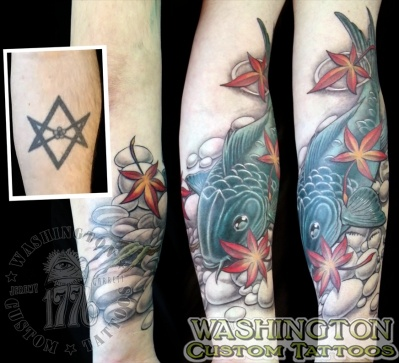 Tattoo Gallery - Category: Cover Up Tattoos - Image: Rich\'s ...